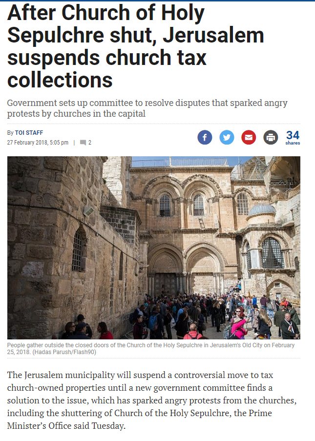 #Orthodoxy Triumphs in #Jerusalem!