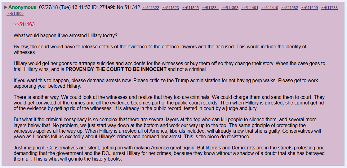 What Would Happen if we Arrested #HillaryClinton Today?