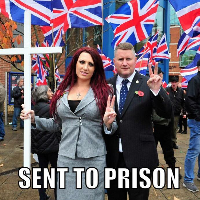 Jayda and Paul – Sentenced to 36 and 18 Weeks in Prison… For Exposing a Gang of #Muslim #Pedophiles. #BritainFirst