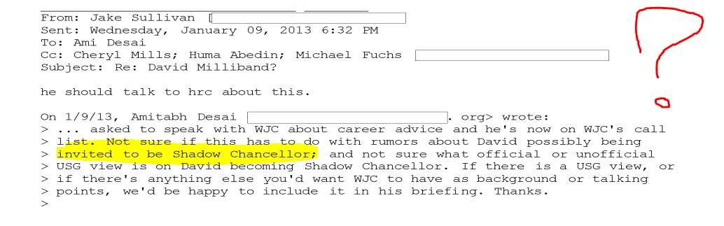 "#FOIA Release Reveals Hillary Campaign Setting up ""Shadow Chancellor,"" Communications with #Rothschilds. #QAnon #GreatAwakening"
