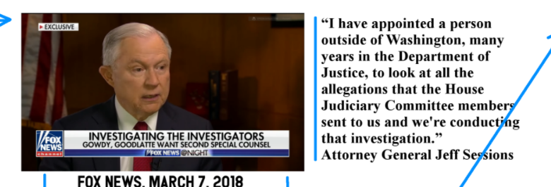 What is AG #Sessions Investigating? #BOOM #QAnon #RowdyGowdy