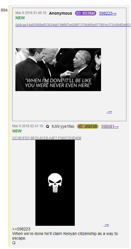 #QAnon Bringing the SUPREME BANTZ! #Obama #Obummer #GreatAwakening