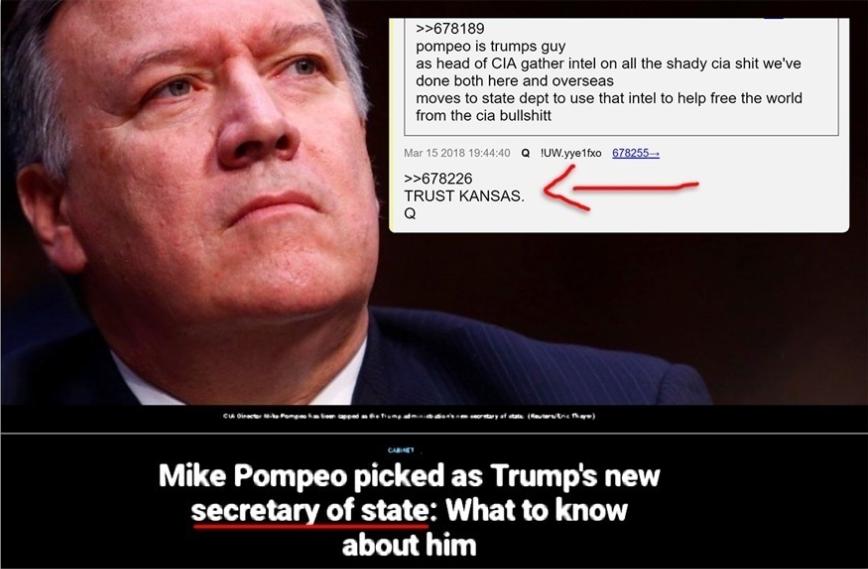 Trust #Kansas. Trust #Pompeo. #MAGA #PlannedParenthood #Benghazi #LOCKHERUP #QAnon #GreatAwakening