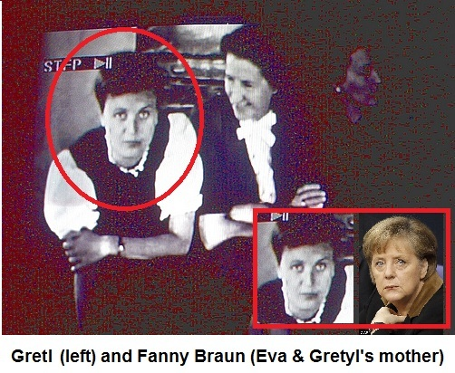 Who is #AngelaMerkel's Father? #NoCoincidences