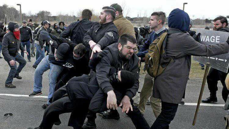 Say what you want about #Heimbach, but I don't see you on the streets, Bellyfloppin' #AntiFa!