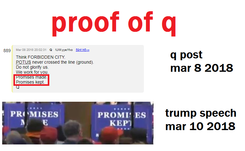 Promises Made. Promises Kept. #Trump #MAGA #QAnon
