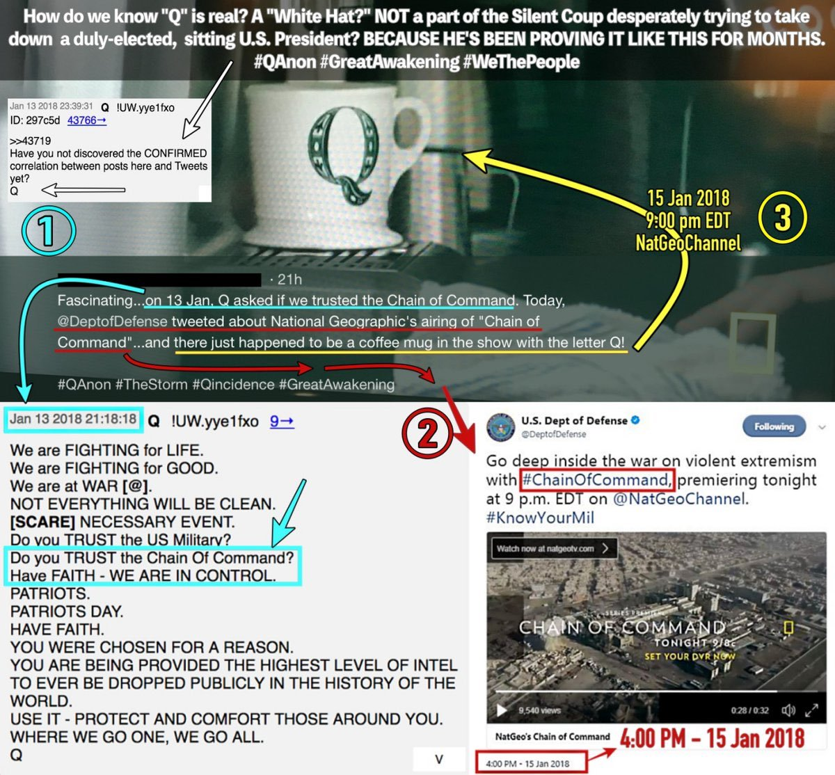 MASSIVE MASSIVE MASSIVE #NEWQ POSTS! #QANON Talks about the Shooter at the White House today, and MORE! #GreatAwakening