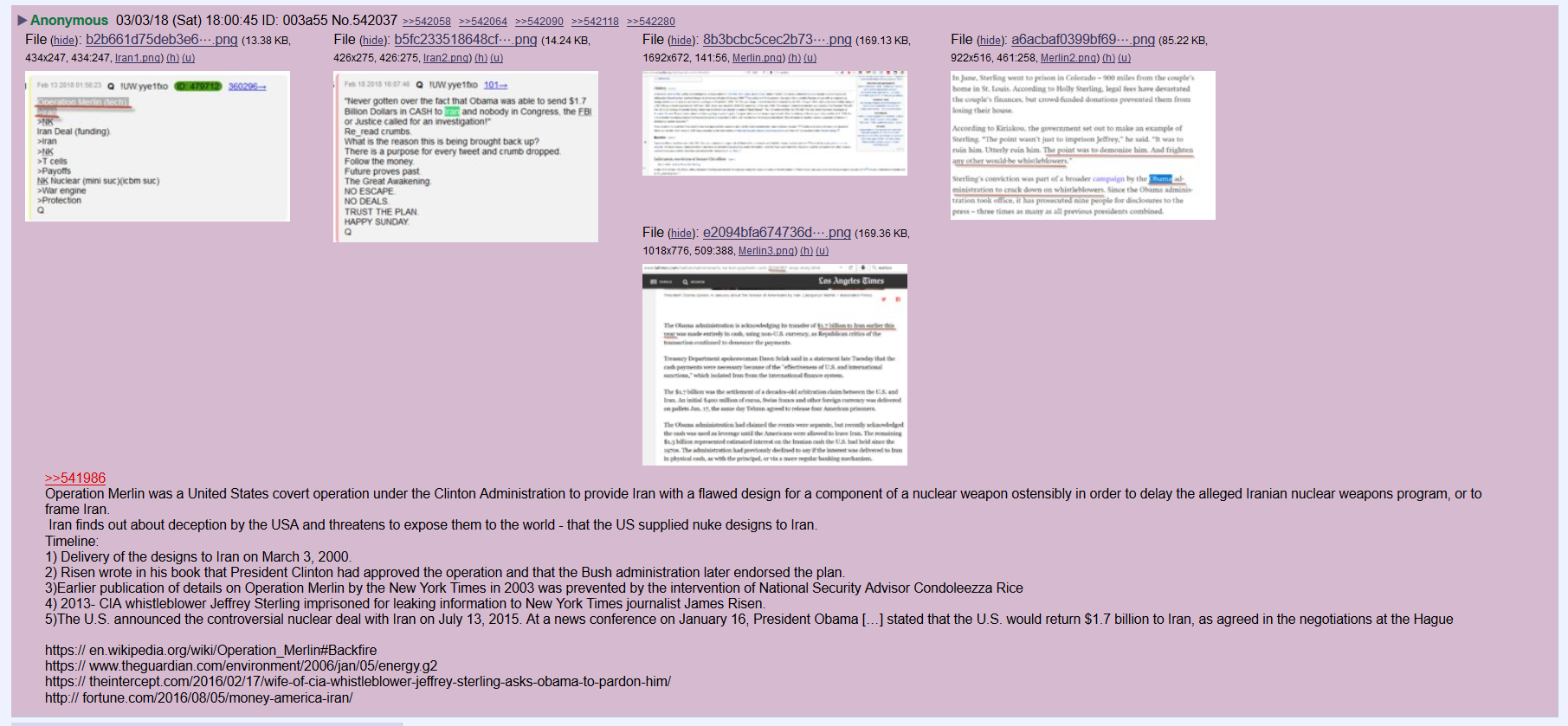 #Anons Construct an #OperationMerlin Timeline… and it's ASTOUNDING! #Treason #QAnon
