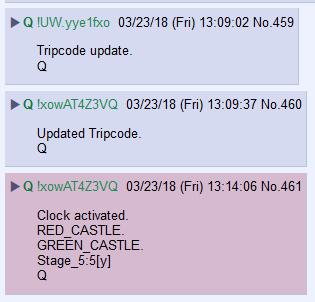#QAnon has a new Tripcode. #HRCVideo Drop Imminent? #ClockActivated! #NewQ #GreatAwakening