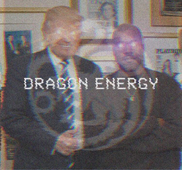 Kanye and Trump's Bromance. #DragonEnergy #GreatAwakening