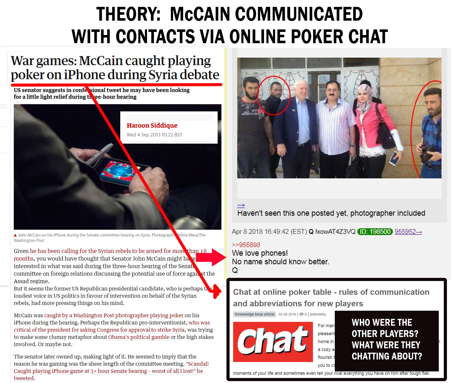 "Hey @SenJohnMcCain… ""Shall We Play a Game?"" #NoName #Traitor #QAnon #GreatAwakening"