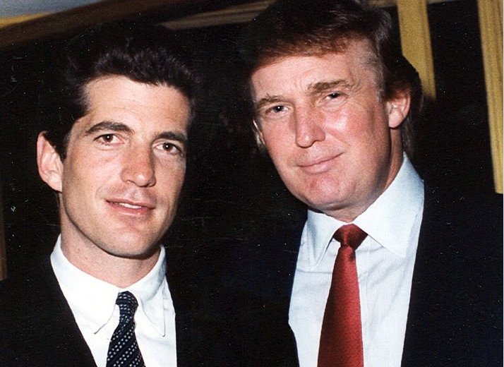 Trump and JFK Jr. #QAnon #GreatAwakening
