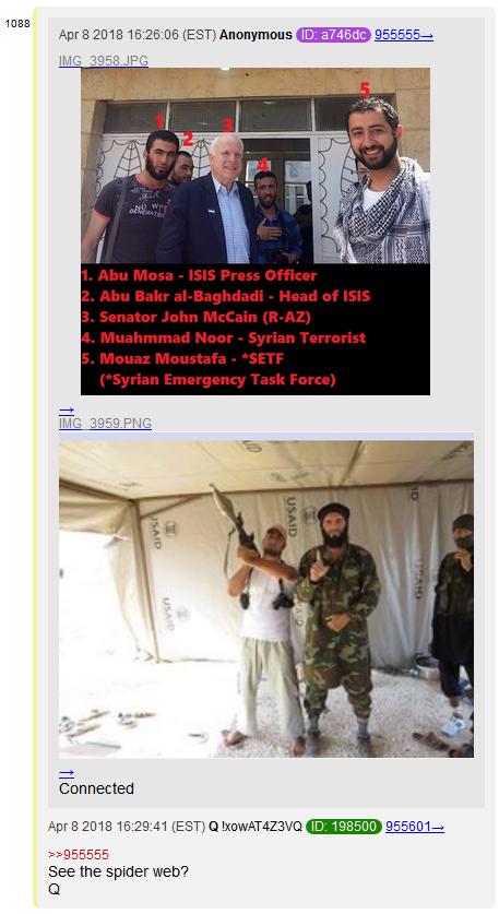 """NoName"" McCain's Adventures In Syria with ISIS. #QAnon #GreatAwakening #DeepStateGasAttack #NoCoincidences #ThesePeopleAreSick #TraitorMccain #ChemicalMccain #IsisMccain"