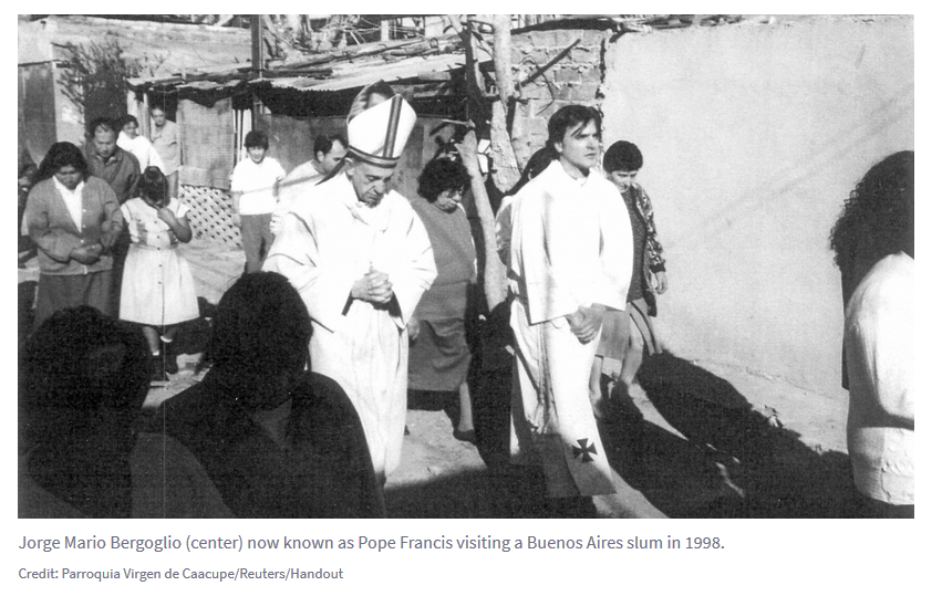 The Blood on Bergoglio's Head – Argentina's Ghosts