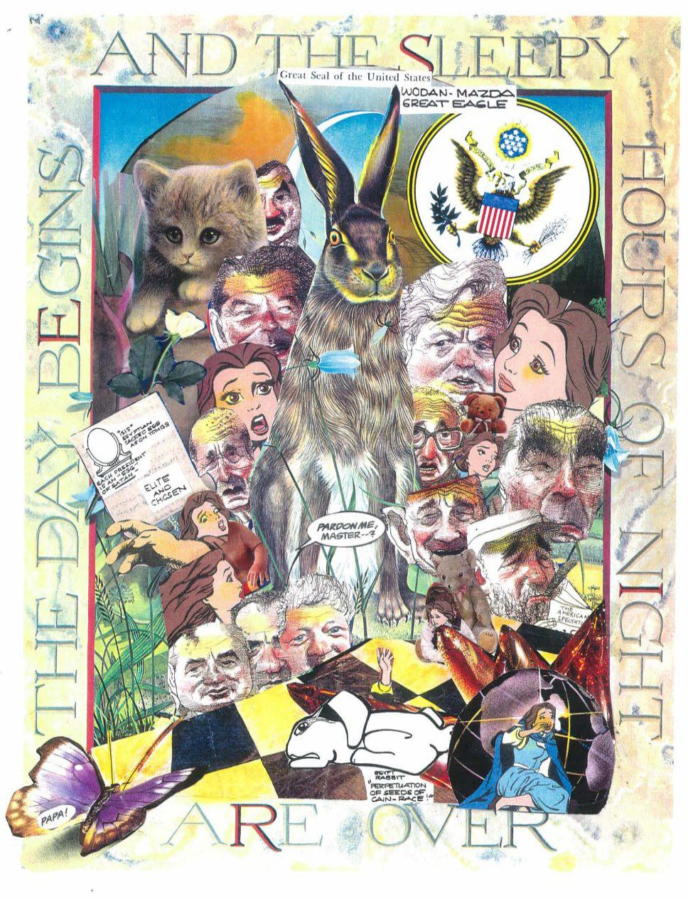 Open Season for White Rabbits… #QAnon #GreatAwakening #MKUltra #Pizzagate #Pedogate #NOMORE #NeonRevolt