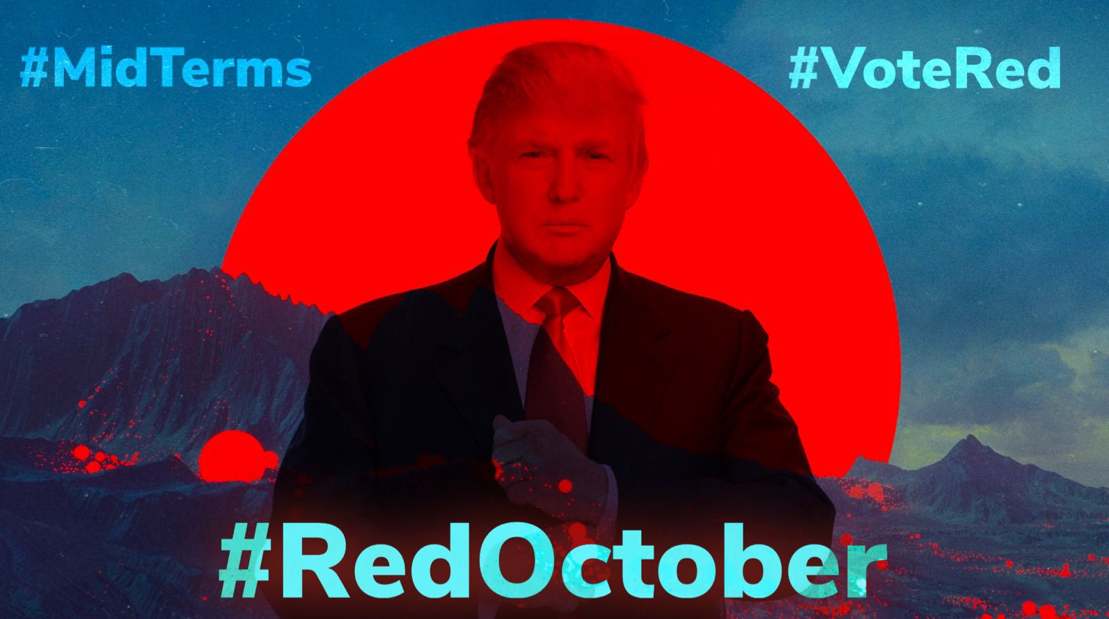 The Night of #TheOrangeMenace! #REDOctober #NewQ #QAnon #GreatAwakening #NEONREVOLT