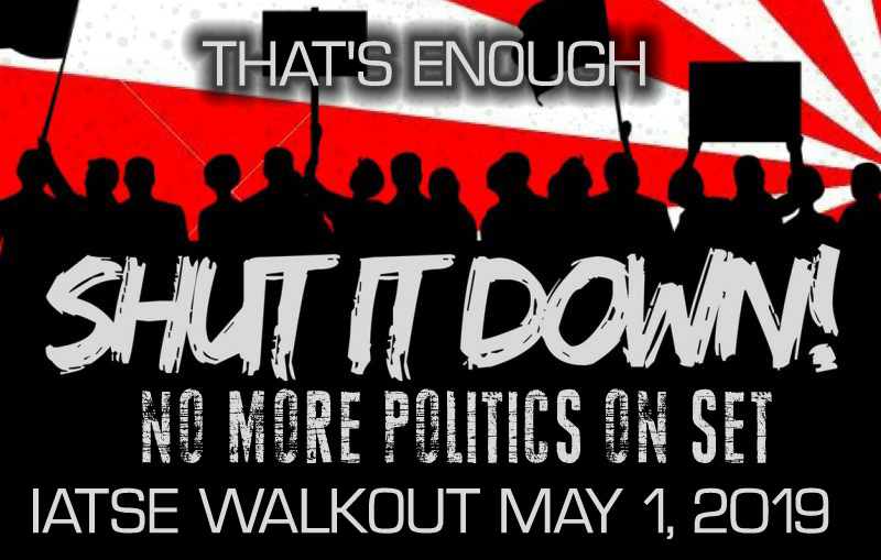 @IATSE – Enough is Enough! Time to #ShutDownHollywood! Support the #IATSEWalkout! #NEONREVOLT