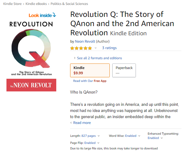 #RevolutionQ Now Available on Amazon!